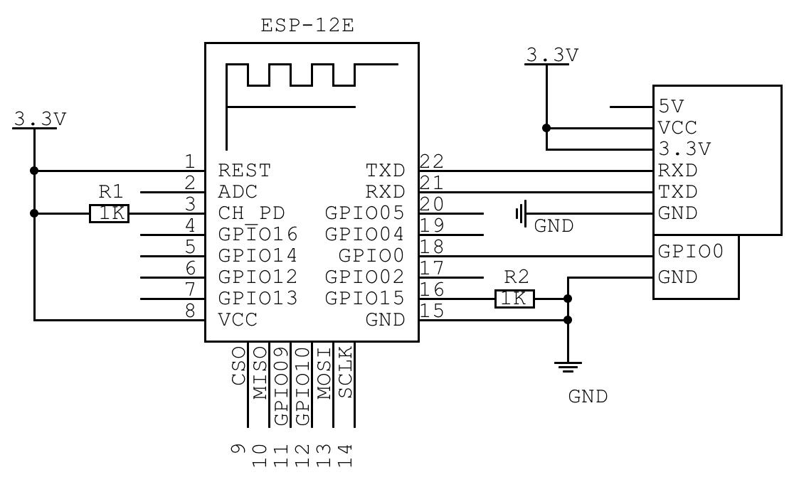 ESP8266 ESP07 не входит в режим программирования